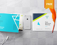 Free Brochure Mockup PSD