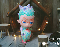 Uglytoys x RanYe Art studio.小年-梦想树.