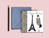 Shiv Illustration / Paris Greeting cards