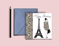 Shiv Illustration / Paris Greeting cards