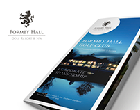 Formby Hall Golf Club  |  Corporate Sponsorship Leaflet