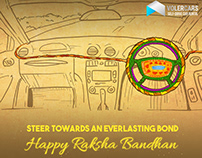 Volercars Creative for Rakshabandhan