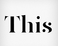 This (FREE FONT)