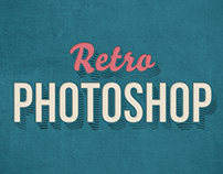 Free Retro Photoshop Text Effect