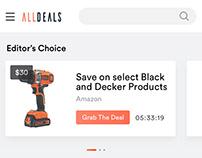Deals Mobile App - iOS