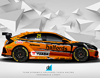 Throw back - BTCC 2019 Liveries Series (WIP)