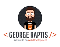 GEORGE RAPTIS | FRONT-END DEVELOPER