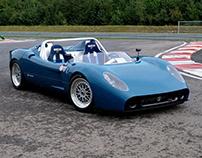 Exterior Design Silvermine Track Racer