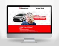 Charlesbourg Toyota / Campagne web 2017