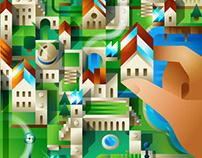 e-Politecnica Sostenible (UPM) - Spot illustration