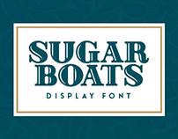 Sugar Boats Display Font