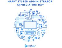 System Administrator Appreciation Day(Social media art)