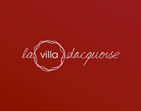 La Villa Dacquoise - Branding