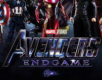 AVENGERS END GAME - MOVIE POSTER - VENOM EDITION(FAN M)