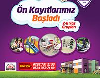 Nurşen Ceylan Anaokulu ( kindergarten poster, )