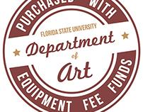 Department of Art, Florida State University Sticker