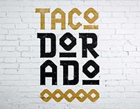 Taco Dorado: logo concept