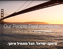 Cisco - Our People Manifesto - Israel