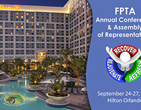 Florida Physical Therapy Association Conference Flyer