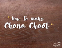Stop Motion Video - Chana Chaat