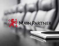 "Brand identity for ""Main Partner"""