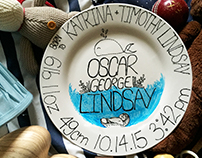 Personalized Baby Plates