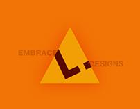 Brand Collateral Design of Embrace Design Studio