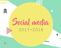Social Media Content 2017-2018
