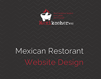 Mexikosher Website Design & Development