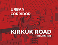 Urban Corridor - Kirkuk Road - Erbil City - iraq