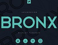 Bronx Display Typeface   Free Download