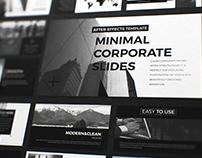 BLCK. Minimal Corporate Slides