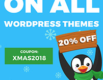 2018 Christmas discount on WCAG & ADA WordPress themes