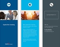 Print Brochure | Event Marketing - Capital One