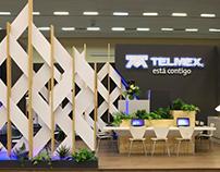 Stand TELMEX FIL México 2016
