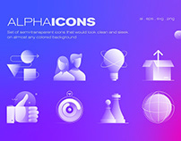 Limited Collection - Alpha Icons