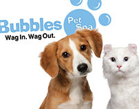 Branding Makeover for Bubbles Pet Spa