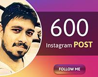 600 Instagram post