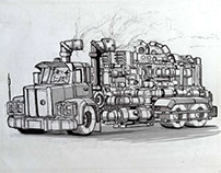 Cars (sketches, part 2)