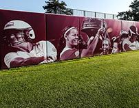 Oklahoma Softball Environmental Graphics