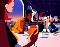 "Ambev . Stella Artois ""Restaurants"""