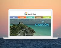 Website & UI / Quick Concept. Agency Lisanka Tours