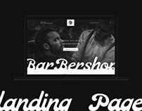 barbershop (landing Page)