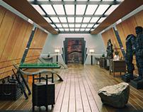 Warrior room-CG-Interior