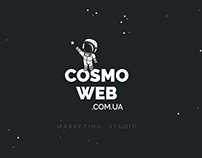 Сайт CosmoWeb Marketing Studio