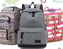 School bag ui/ux design