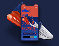 Nike App Interaction Concept