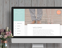 Rustic Wedding Template
