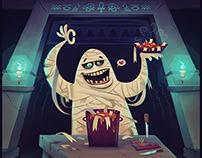 Halloween Cuisine: Pasta del Mummy