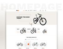 Bike shop theme